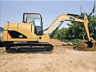 卡特彼勒306D液压挖掘机