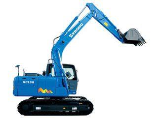 山重建机GC138挖掘机