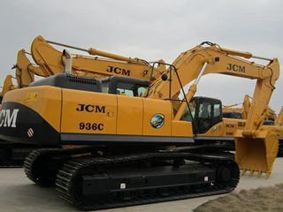 山重建机JCM936C挖掘机