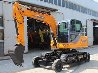 犀牛重工 X8轮式履带 挖掘机