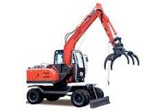 奥邦 AB-75S带拉拔 挖掘机