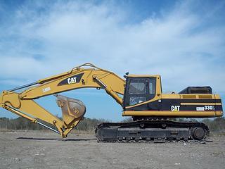 卡特彼勒 330L 挖掘機圖片
