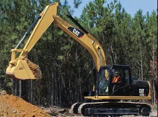 卡特彼勒318D液压挖掘机