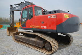 山重建机JCM923B挖掘机