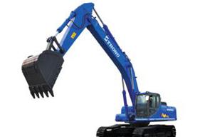 山重建机GC338挖掘机