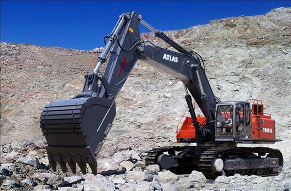 特斯拉发动机_阿特拉斯中国7508LC挖掘机-阿特拉斯中国挖掘机7508LC价格-参数 ...