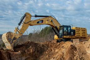 卡特彼勒 374FL 挖掘机