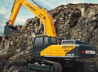 现代 350LVS 挖掘机
