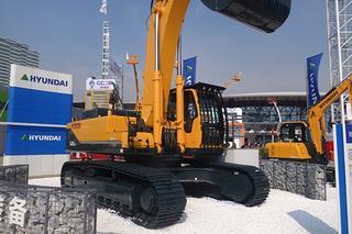 现代R520LC挖掘机