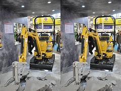 洋马 Vio10-2A-橡胶履带 挖掘机