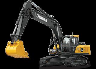 约翰迪尔 E210 挖掘机