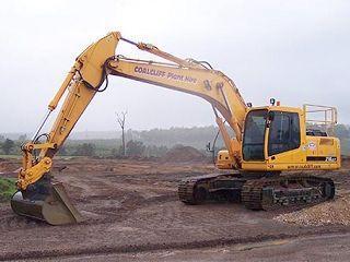 现代R210LC-7 High Chassis挖掘机