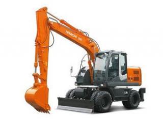 日立ZX210W挖掘机