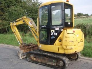 小松PC27R-8挖掘机