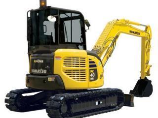小松PC40MRX-1挖掘机