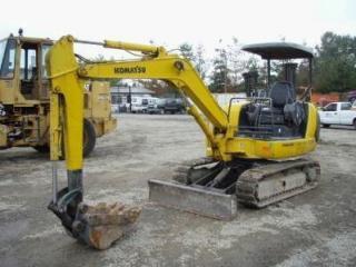 小松PC35R-8挖掘机