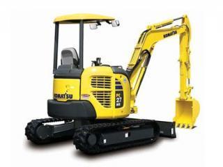 小松PC27MR-3挖掘机