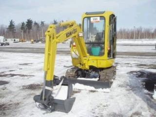 小松PC20R-8挖掘机