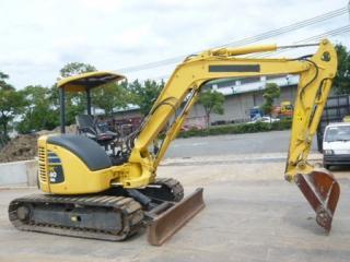 小松 PC40MR-2 挖掘机图片