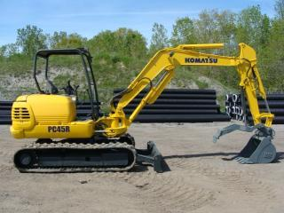 小松PC45R-8挖掘机