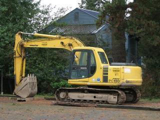 小松 PC120 挖掘机图片