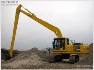 小松PC240NLC-8超长前臂(18米)挖掘机