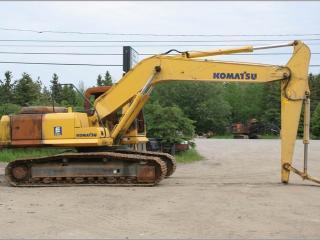 小松PC220LC-7超长前臂挖掘机