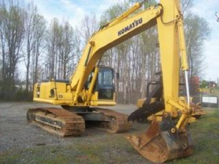 小松 PC200LC-7超长前臂(18米) 挖掘机