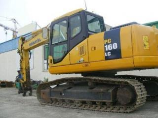 小松 PC160-7 挖掘机图片