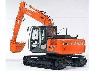 日立ZX120-3挖掘机