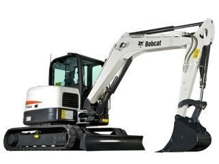 山猫 E60 挖掘机