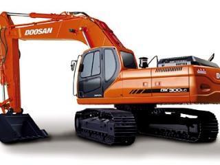斗山 DX300LC 挖掘机