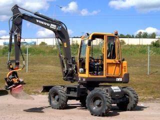 沃尔沃 EW50 挖掘机图片