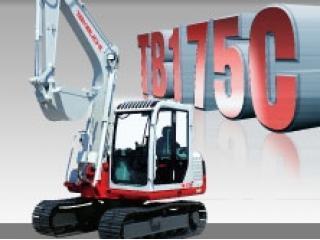 竹内 TB175C 挖掘机