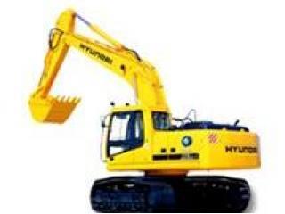 现代R370LC-7挖掘机