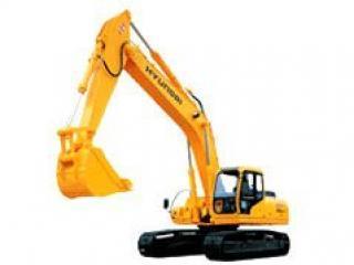 现代R190LC-5挖掘机