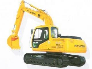 現代 R130LC-5 挖掘機圖片