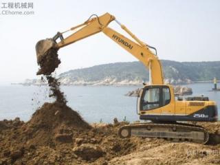 现代R250LC-9挖掘机