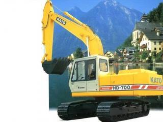 加藤 HD700VII 挖掘机图片