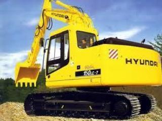 现代 R150LC-7 挖掘机