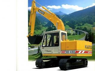 加藤 HD450VII 挖掘机图片
