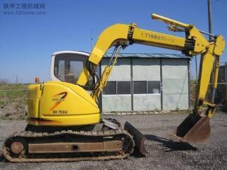 住友SH75XU-3挖掘机