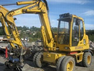 小松PW95R-2挖掘机