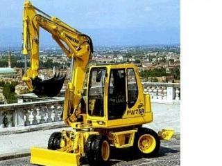小松PW75R-2挖掘机