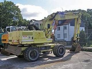 小松PW75-1挖掘机