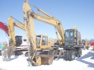 小松PW210-1挖掘机
