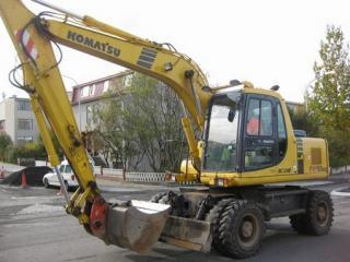 小松PW150ES-6挖掘机