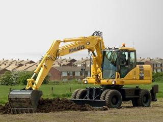 小松PW160-7挖掘机