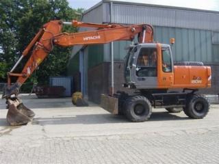 日立ZX180W挖掘机
