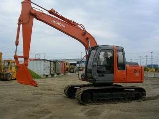 日立 ZX120进口 挖掘机
